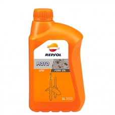 Масло Repsol MOTO FORK OIL  10W, 1 л.