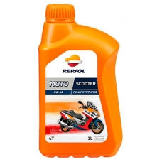 Масло Repsol MOTO FORK OIL  5W, 1 л.